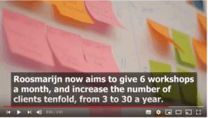 doelen stellen van 3 naar 30 klanten Geodomein